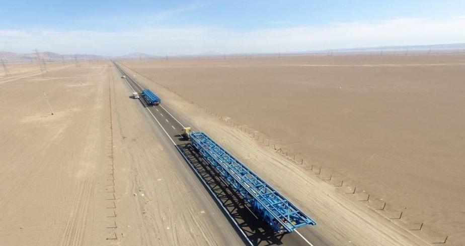Julio 2019 - Sistema de correa transportadora para BHP (Spence) en Chile