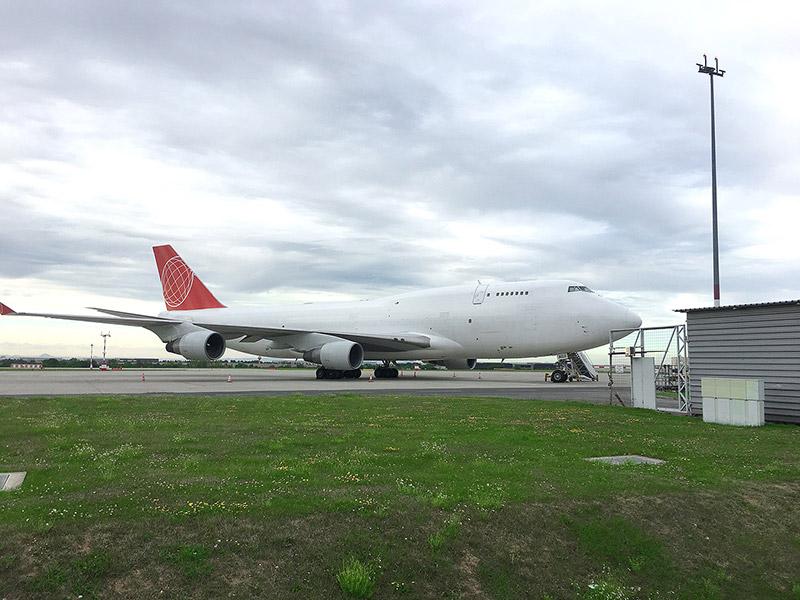 August 2017 – Komplett-Charter Boeing 747-400F nach Surabaya, Indonesien