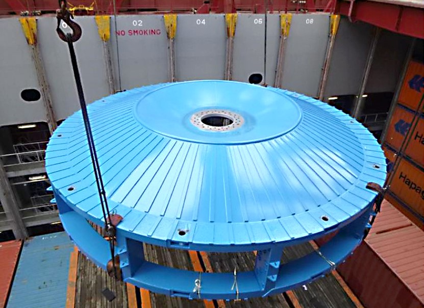 June 2020 - Bucket wheel body to Chile