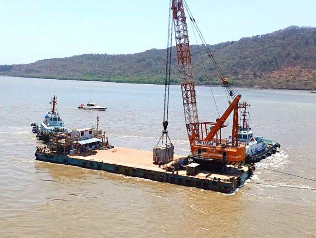 Juli 2020 - Verladung eines Transformators ab Indien in die Atacama Wüste durch BLS Forwarding Chile